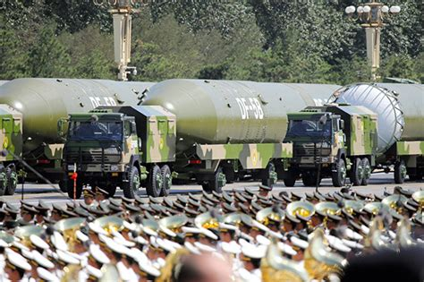 World War 3 fears: China's hypersonic DF-41 missile