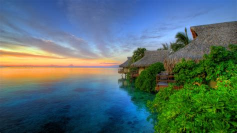 Island Sunset Wallpapers | HD Wallpapers | ID #12473