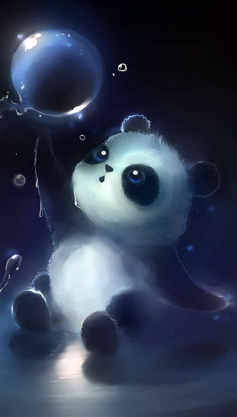 Quality Phone/Tablet Backgrounds | Panda wallpapers, Cute