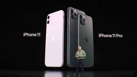 These are Apple's new iPhones: the iPhone 11, iPhone 11