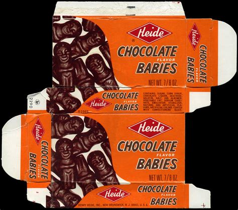 Heide - Chocolate Babies - candy box - 1970's   Flickr