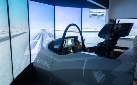 In the cockpit of the world's most impressive fighter jet