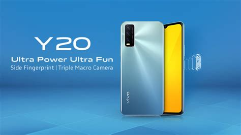 Vivo Y20 Price in Pakistan; Goes Official with a Sleek