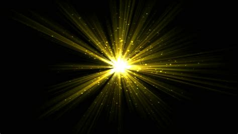 Bright Star and Light Animation Stock Footage Video (100%