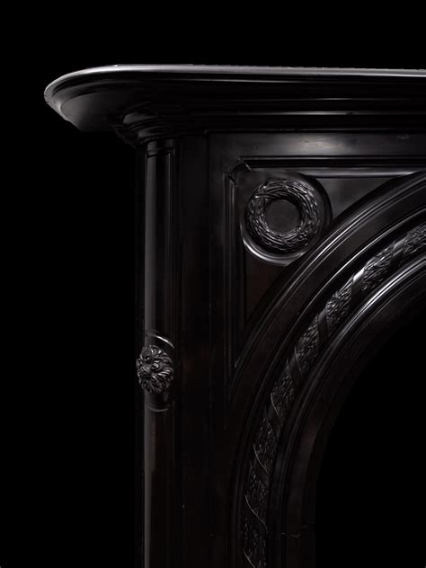 Black Marble Fireplace - 19331 - 19th Century, 19th