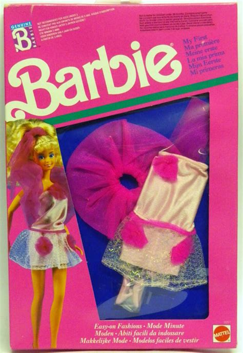 My First Barbie Easy-on Fashions 9251