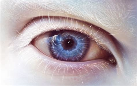 eyes, Albino Wallpapers HD / Desktop and Mobile Backgrounds
